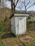 Image for Historic Antioch Church Outhouses ~ Snowflake, Virginia - USA.