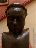 Image for Dylan Thomas Bust - Cardiff, Wales.