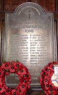 Image for WWI Memorial Plaque - All Saints - Mundesley, Norfolk
