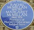 Image for Rachel and Margaret McMillan - Florence Road, Bromley, London, UK