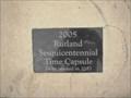 Image for Stenger Park Time Capsule  -  Rutland, Illinois