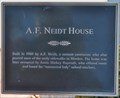 Image for A.F. Neidt House