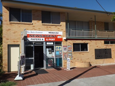 The combined Newsagent, and LPO for Iluka, NSW
