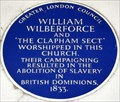 Image for William Wilberforce - Holy Trinity Church, Clapham, UK
