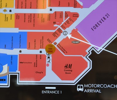 2a42cdc0f0 Opry Mills Mall Entrance 1 -  You Are Here  Maps on Waymarking.com