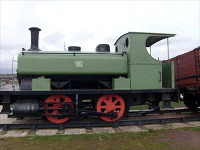 Andrew Barclay 0-4-0 Steam, No.1260, The Forester Locomotive - Newport, Wales.