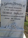 Image for George Farley - Gloucester, NSW, Australia