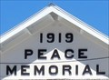 Image for 1919 Peace Memorial - George Town, Cayman Islands