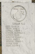 Image for Korean War - Benton County Memorial - Camden, TN