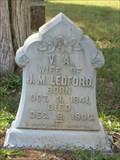 Image for V.A. Ledford - Mount Zion Baptist Church Cemetery - near Alloway, TN
