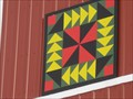Image for Six Mile Corner Painted Barn Quilt, rural Hull, IA