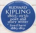 Image for Rudyard Kipling - Villiers Street, London, UK