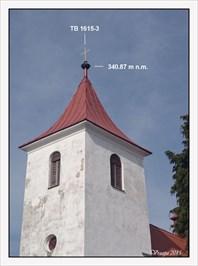 TB 1615-3 Vysoký Újezd, kostel