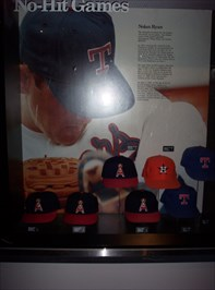 Big Tex, these are the caps Nolan wore during his 7 no hitters.