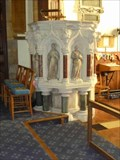 Image for Stone Pulpit, All Saints Church, Evesham, Worcestershire, England