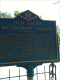 Image for Old Union Methodist Church (NC-117) - Townsend, DE
