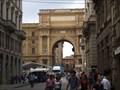 Image for Arcone Triumphal Arch at Piazza della Repubblica - Florence, Italy