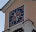 Image for Clock of Old School Building - Unterjettingen, Germany, BW