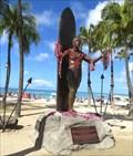 Image for Duke Kahanamoku Statue - Honolulu, Oahu, Hawaii