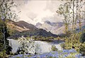 "Image for ""Bluebells at Elterwater"" by Alfred Heaton Cooper – Elterwater, Cumbria, UK"