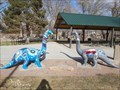 Image for Two Artistic Brachiosaurs' - Canon City, CO