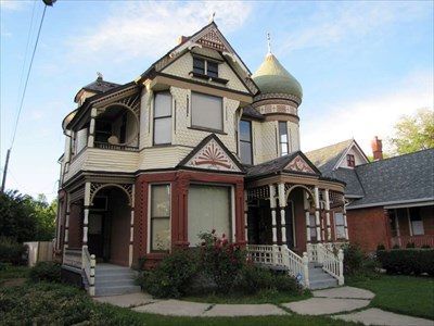 Andrew j warner house ogden utah victorian houses on for House plans ogden utah