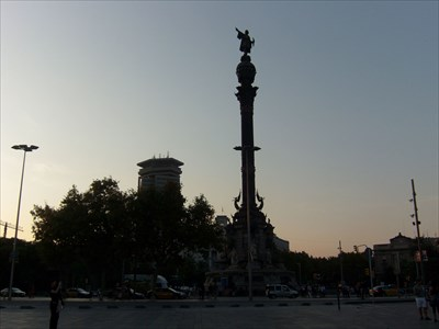 veritas vita visited Monumento a Colón