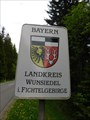 Image for Das Wappen des Landkreises - Wunsiedel/BY/Germany