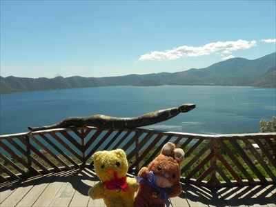 Tibärius & Max at Lago de Coatepeque - Coatepeque, El Salvador