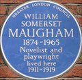 Image for William Somerset Maugham - Chesterfield Street, London, UK