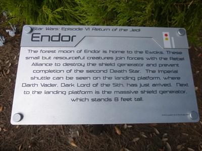 Endor - Star Wars - Legoland Florida. USA.