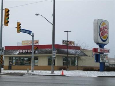 Burger King - Hwy 58 and QEW - Niagara Falls, ON, Canada - Burger