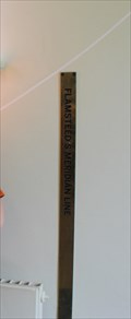 Image for Flamsteed's Meridian Line --  Royal Observatory, Greenwich, London, UK