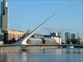 """Image for Puente de la Mujer  """"Woman's Bridge"""" - Buenos Aires, Argentina"""