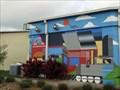 Image for Abstract Train Mural - Denton, TX