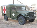 Image for Dodge M43B1 Ambulance - Texas Air Museum, Slaton, TX