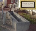Image for Hitching Post and Watering Trough - West Springfield, MA