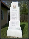 Image for Pomník padlým - Hodonín u Kunštátu, Czech Republic