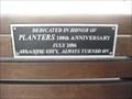 Image for Planters 100th Anniversary Bench - Atlantic City, NJ