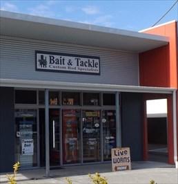 Cropped photo of the Bait Shop.Gordon Street, Port Macquarie.0814, Sunday, 22 October, 2017