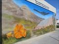 Image for California Poppy Reserve Mural- Lancaster, California