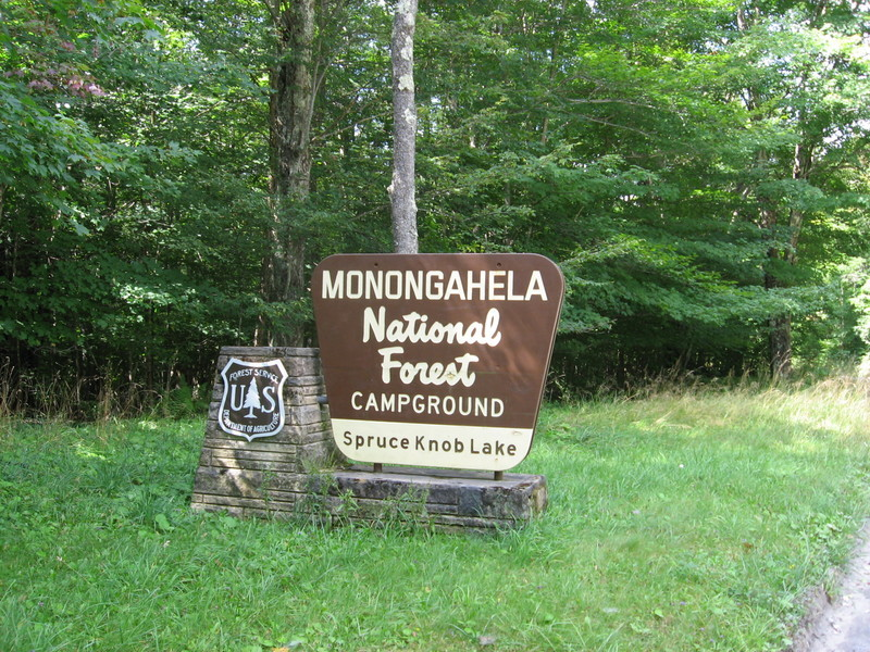Spuce Knob Lake Campground Monongahela National Forest
