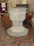 Image for Modern Font, Priory Church, Leominster, Herefordshire, England