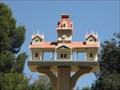 Image for Old Railroad Station of Frontier Village - San Jose, California