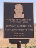Image for Deputy Sheriff Franklin Jay Minnie, Sr. - Washoe County, Nevada