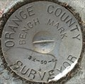Image for Orange County Surveyor 3X-50-84 Benchmark - Laguna Hills, CA