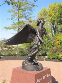 Angel of Hope, From the Right, Middletown, OH