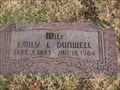 Image for 100 - Emily L. Dunwell - Rose Hill Burial Park - OKC, OK