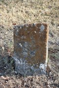 Image for Stone Tombstone -- Old Rockwall City Cemetery, Rockwall TX