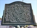 Image for Site of Thaddeus Post Office - Notasulga, AL